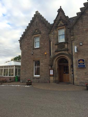 BEST WESTERN PLUS Inverness Lochardil House Hotel : The Main Entrance to the Hotel
