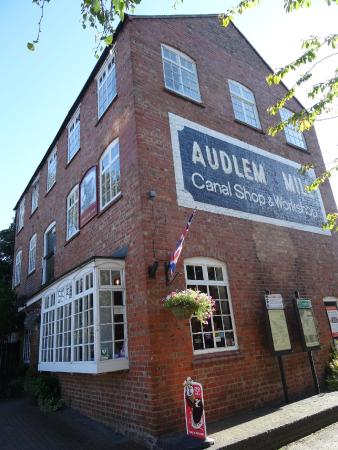 Audlem, UK: Frontage