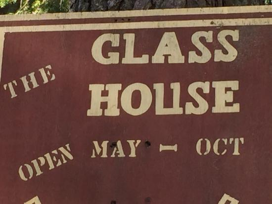 Glass Bottle House: Open during the summer only