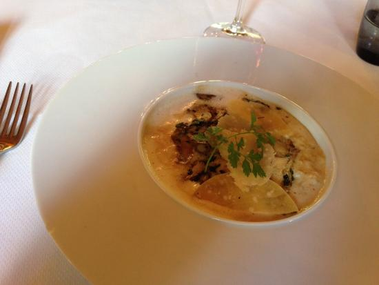 Noves, Frankrig: Risotto with ceps and Parmesan Reggianoo