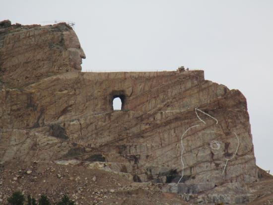 Gutzon Borglum Historical Center : Crazy Horse Memorial Dream