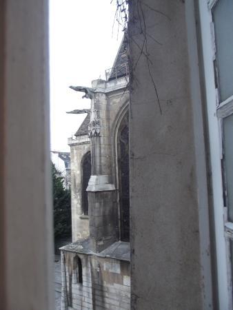 Auberge de jeunesse MIJE Maubuisson : Vista da janela