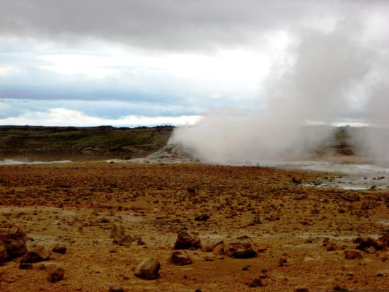 Myvatn: una terra così rossa....che sembra Marte!