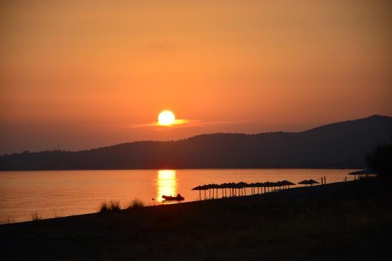 Vatera'da gün batımı