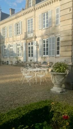 Domaine du Chateau de Mairy: Entré