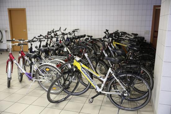 City-Pension Dessau-Rosslau: Leihräder der City-Pension