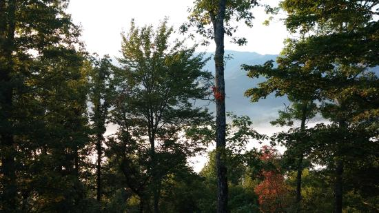 Appalachian Inn: Early morning view