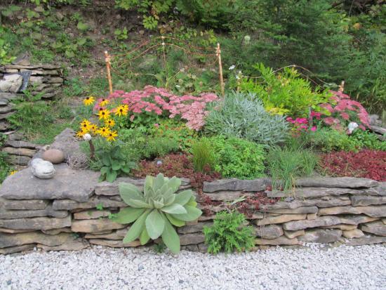 Green Bay Lodge: Garden