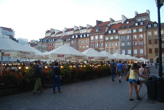 Bistro Warszawa: Vieille ville