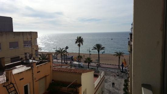 Hotel Metropol: Вид на море