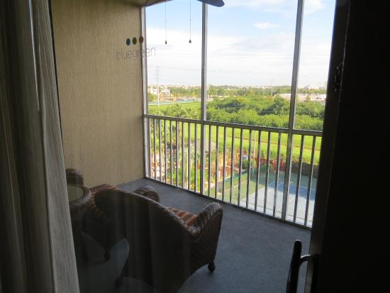 Orlando's Sunshine Resort: Balcony