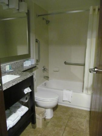 Comfort Inn Mount Airy : bathroom