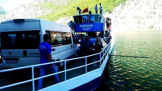 Koman, แอลเบเนีย: Ferry BERISHA