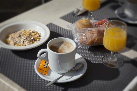 Hotel Panorama: Desayuno / Breakfast