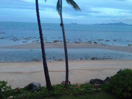 Belmond Napasai: Low tide