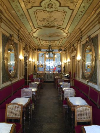 Cafe Florian a moment of opulence that echoes through history