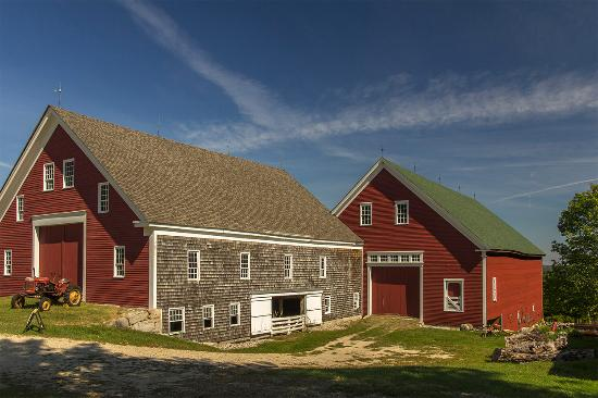 New Gloucester, ME: The barns at the Shaker Village