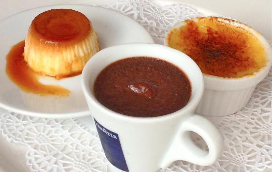 Vincent - A Restaurant: Delicious dessert - Les Trois Pots