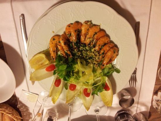Le Moulin De Mitou: Crevettes sautées persillées