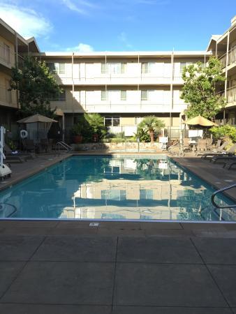 Marin Suites Hotel: Бассейн с соленой водой