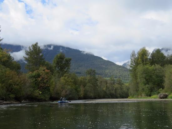 Bella Coola, Canadá: Only way to see this gorgeous scenery