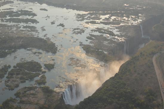 Kubu Cabins : Victoria falls hélico Batoka