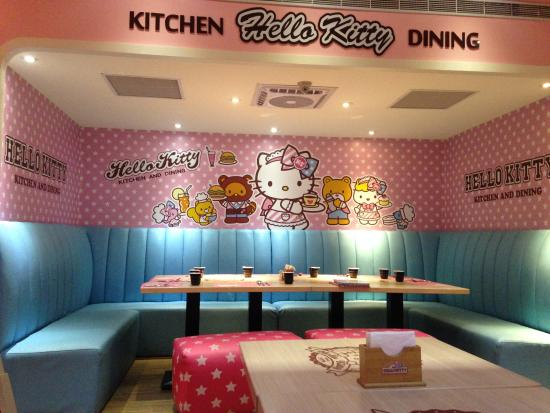 Image result for hello kitty restaurant taiwan