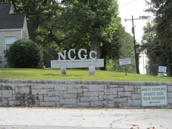 North Carolina Granite Quarry: Granite
