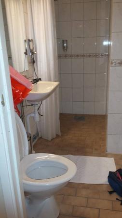 Hotel Vasa: Toalettet.