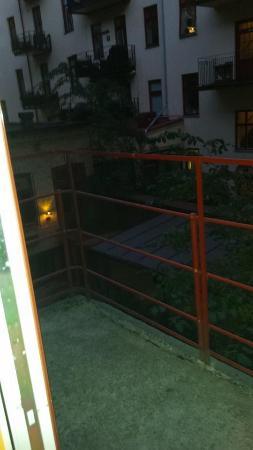 Hotel Vasa: Balkong