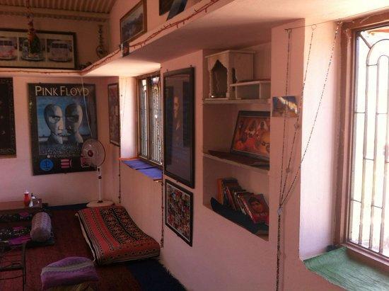 Abu, Indien: cafe