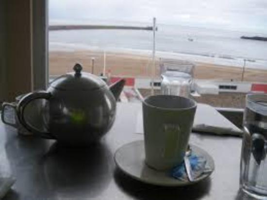 The Bungalow Cafe: View from the Cafe
