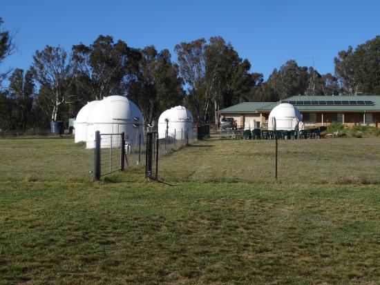 Warrumbungle Observatory: It's all outside