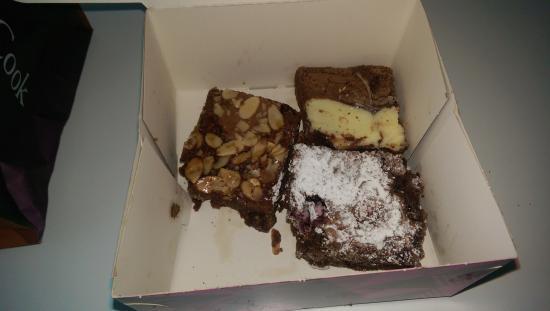 Konditor & Cook - Waterloo: Yummy Brownies (all eaten in an hour)