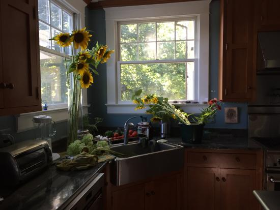 Inn at Westwood Farm : The beautiful kitchen where the magic happens
