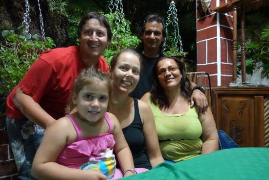 Hostal Digna Aguila: Familienfoto
