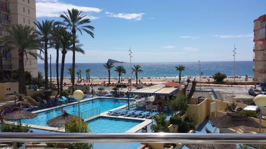 Hotel fotograf a de hotel poseidon playa benidorm for Hotel poseidon playa