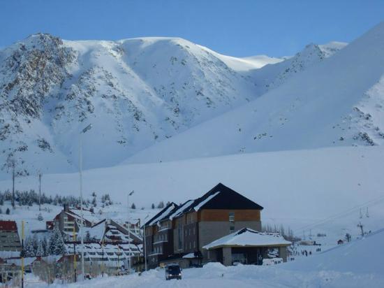 Virgo Hotel and Spa - Las Lenas : gran nevada