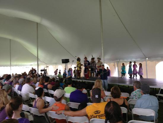 Ganondagan State Historic Site: Iroquois Social Dancers at Native American Dance & Music Festival