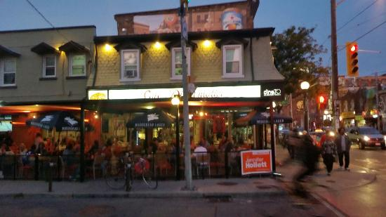 Photo of Italian Restaurant Café Diplomatico at 594 College St, Toronto M6G 1B3, Canada