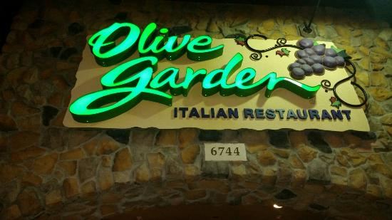 Perfect Olive Garden