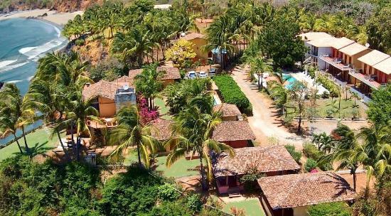 Hotel Villa Romana: Aerial View of Villa Romana