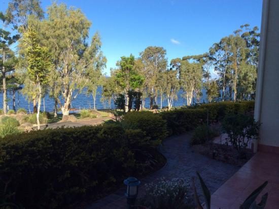 Tinaroo, Australia: View of the lake again from our window