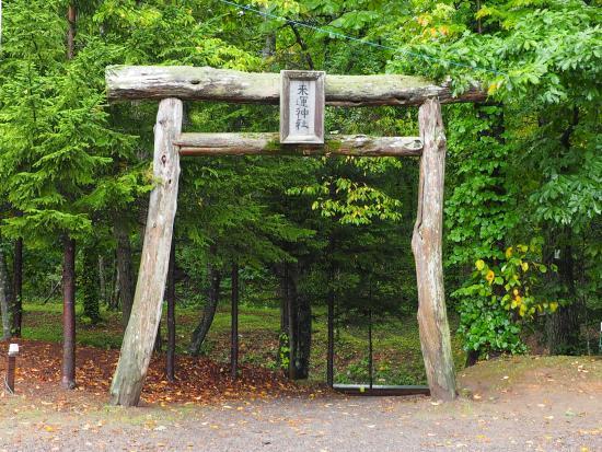 Raiun Shrine : 鳥居