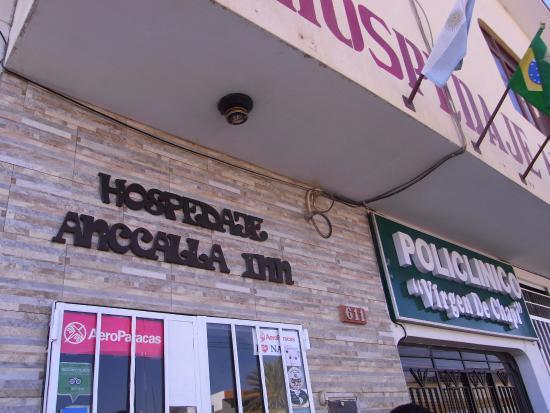 Anccalla Inn: ホテル外観