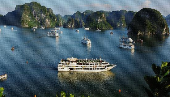 Starlight Cruise Halong Bay - Day Tour