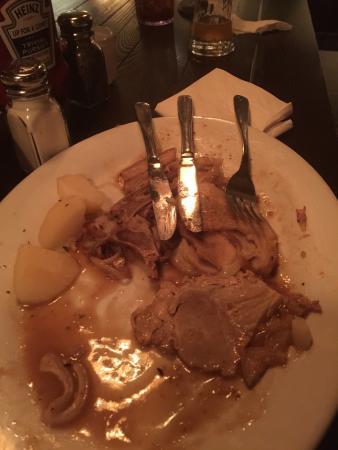 The Bavarian Lodge: October special pork was very smelly.  Bad taste.