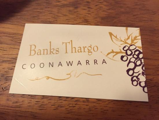 Banks Thargo Coonawarra