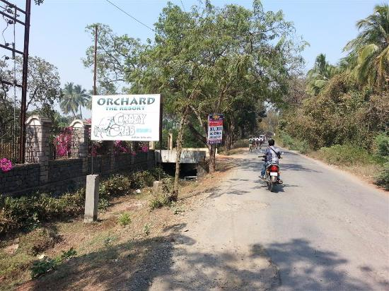 Orchard, The Resort: Entrance to the hotel