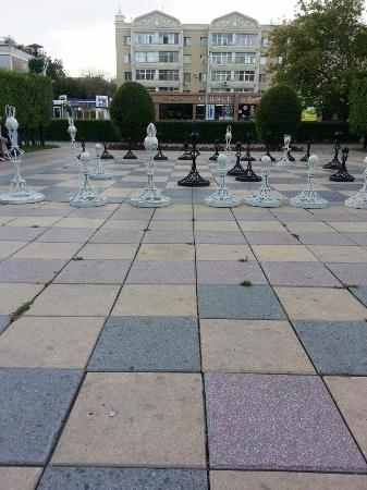 Square Chess Players